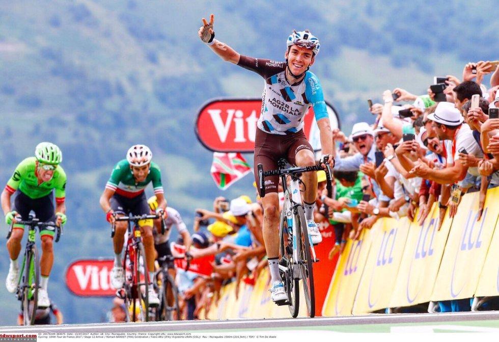 2017年ツール・ド・フランス個人総合3位のバルデ