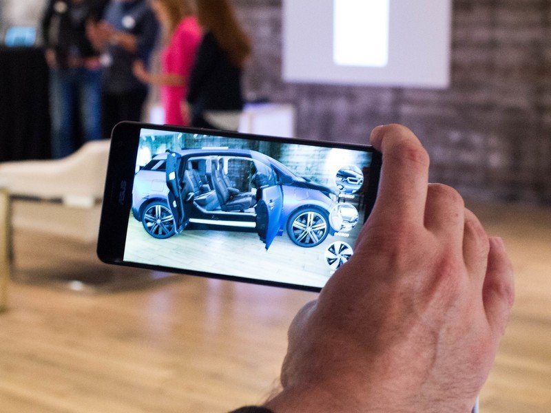 The future of #augmentedreality may actually be in shopping apps  #ar