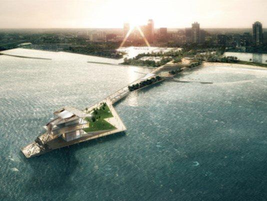 New #StPetersburg Pier construction underway  @WTSPJenny