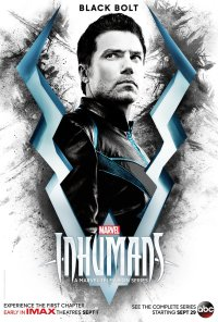 Inhumans karakterposters Black Bolt