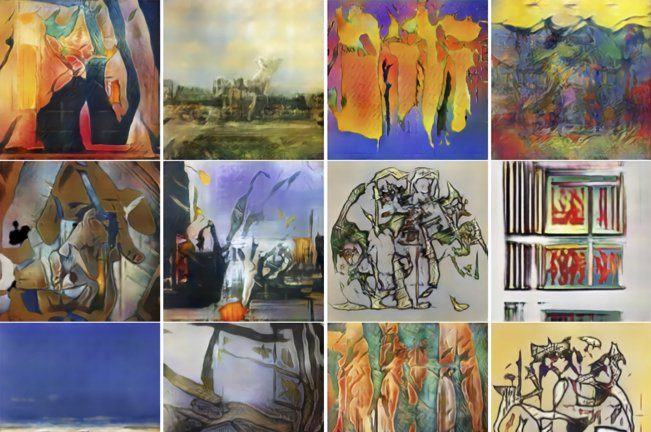 Artificial Intelligence Laboratory Invents New Styles of Art