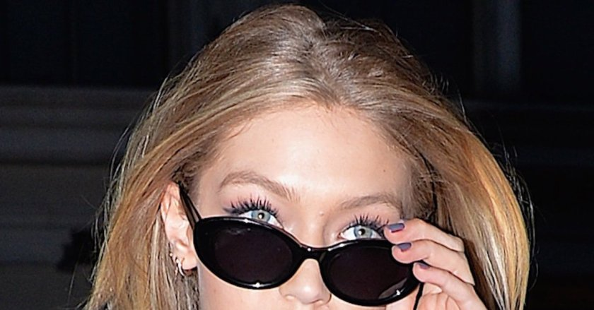 Gigi Hadid wore gray lipstick and it's actually awesome