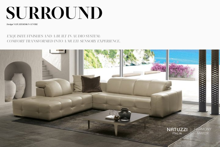 Natuzzi On Twitter With Decorative And Functional Details Surround Is A Sofa That Will Enhance The Total Look Of You Living
