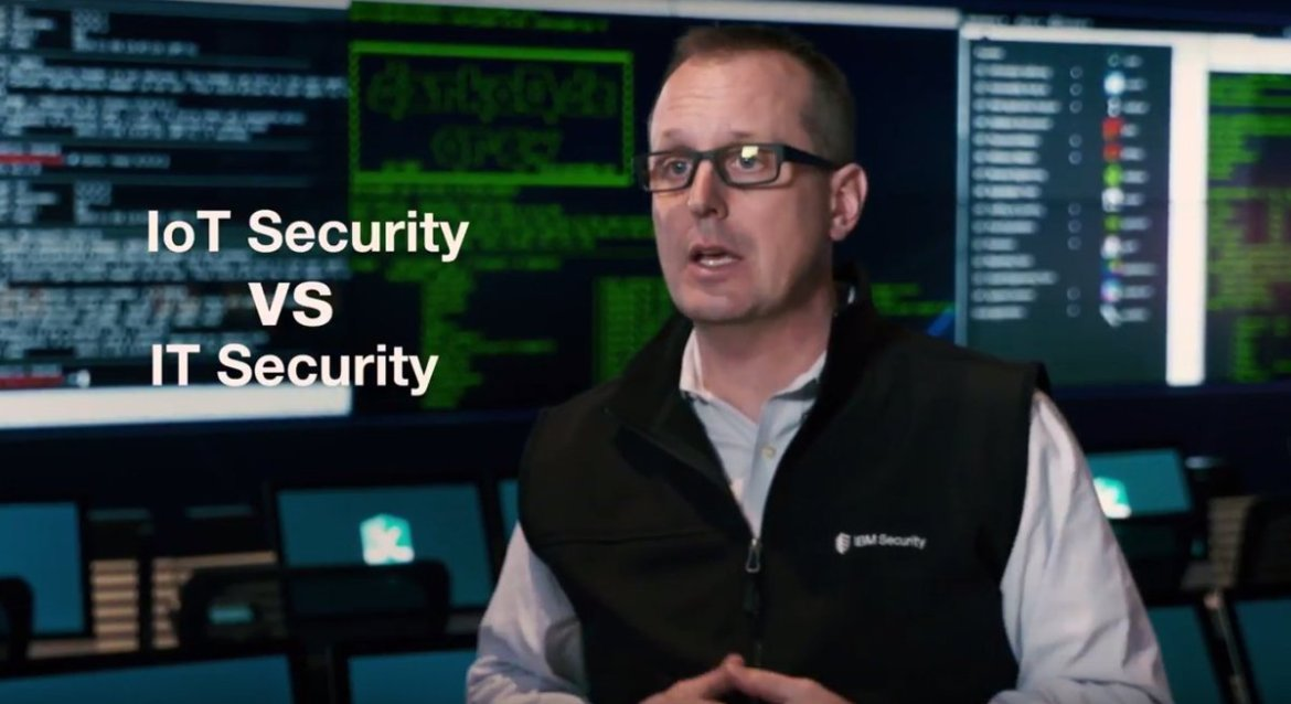 Video: Understanding #IoT #Security vs IT Security  #BHUSA #WatsonIoT #XForceRed