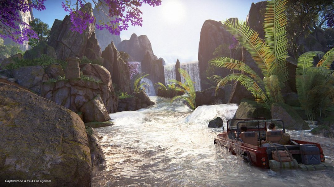 Uncharted: The Lost Legacy Western Ghats