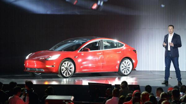 Supercut of @elonmusk unveiling the new #Tesla #Model3 ? #IoT #machinelearning #renewables