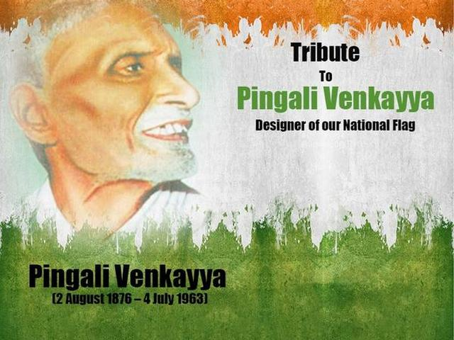 story of indian flag designer pingali venkayya