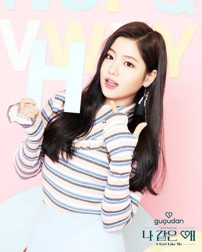 Image result for hyeyeon gugudan site:twitter.com