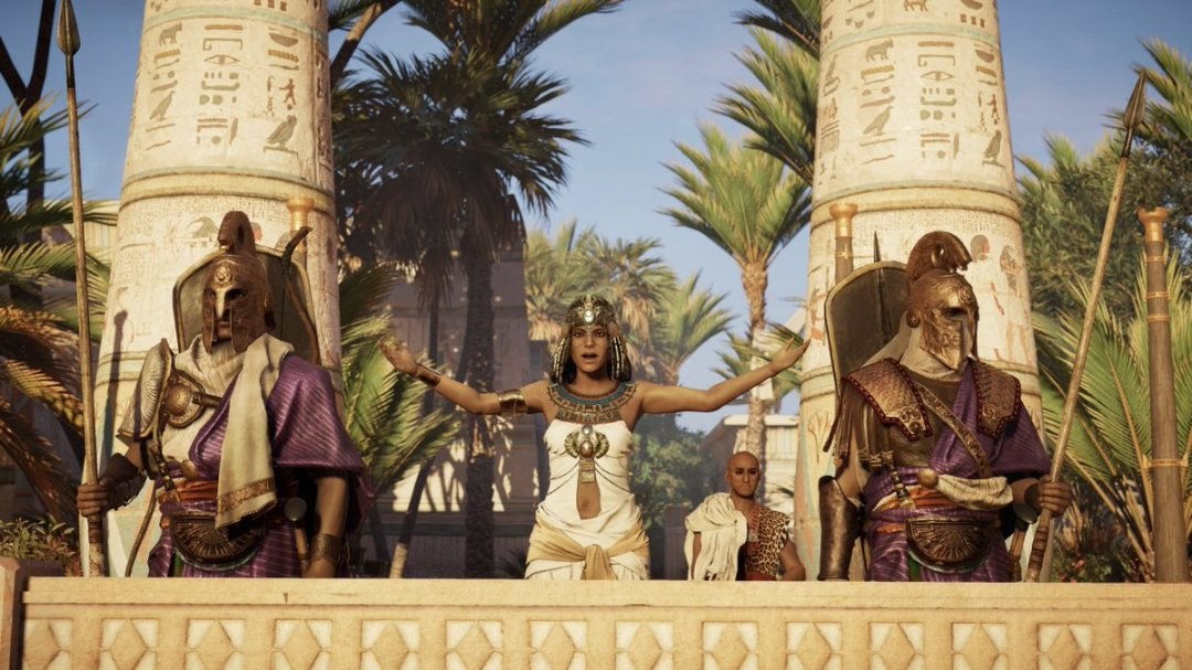 Assassin's Creed Origins Game of Power Trailer