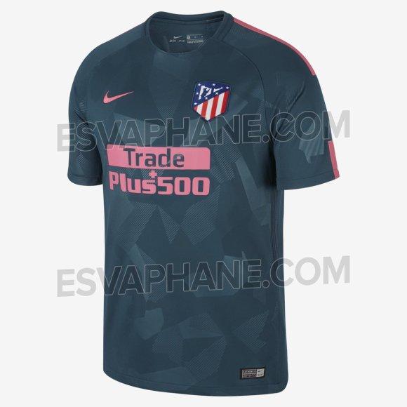 Cómo será la tercera camiseta del Atleti 2018-2019  Se filtran los ... 855e88aad439b