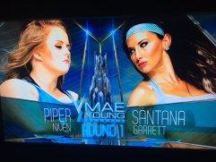 Image result for Piper Niven def. Santana Garrett