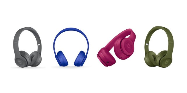 Apple releases fresh colors for Beats Solo3 Wireless Headphones...