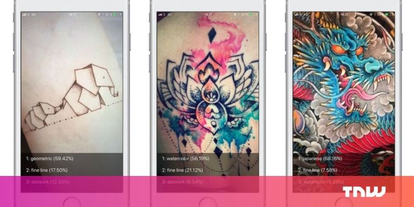 These programmers taught an #AI how to understand tattoos