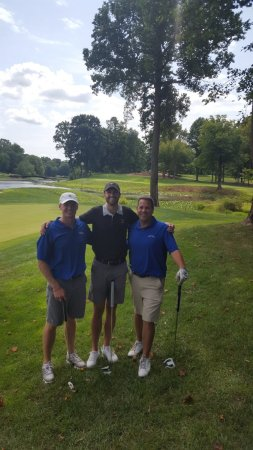 DeMatha Golf on Twitter   Joey Rice  08 Ben Warnquist  11 and Coach     DeMatha Golf on Twitter   Joey Rice  08 Ben Warnquist  11 and Coach Dan  Spotts  81 enjoying a day on the links at The Country Club at Woodmore