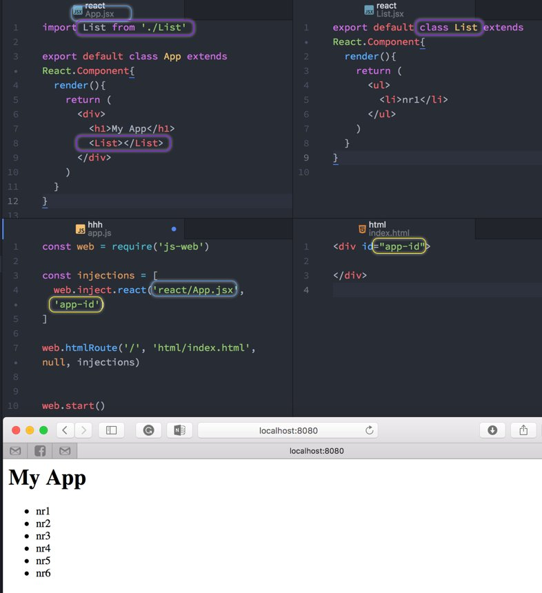 React And JS-WEB  #react #js #javascript #es6 #es7 #jsx #webdevelopment