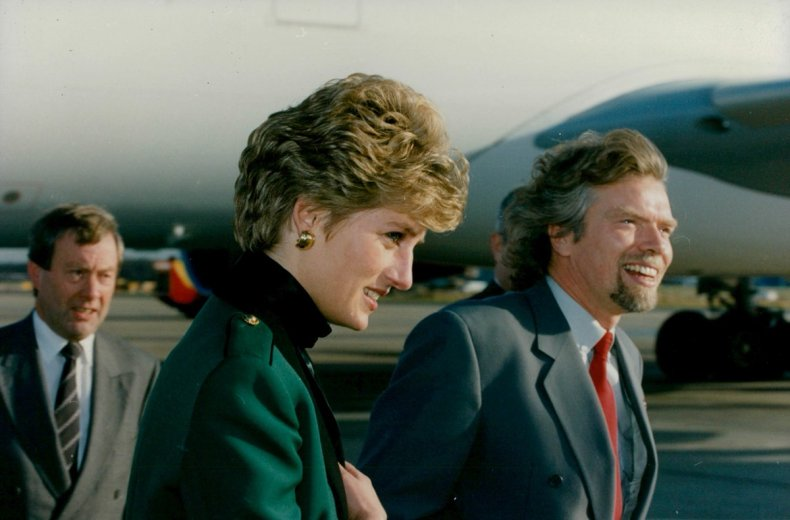 Like many of us, I'm sure Diana saw her children as her greatest legacy - Richard Branson