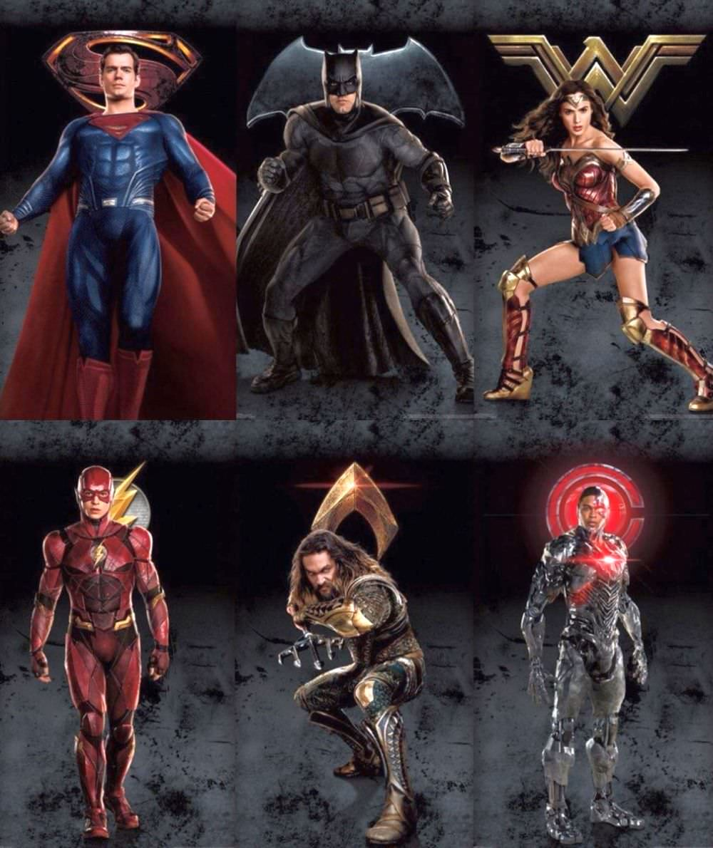 Justice League Character Banners Revealed