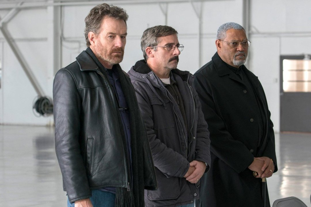 Last Flag Flying Trailer Featuring  Bryan Cranston, Steve Carell, Laurence Fishburne