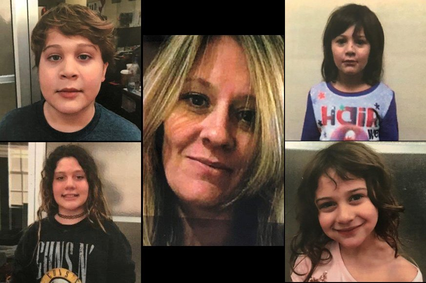 Deputies search for Manatee Co. woman and her four kids