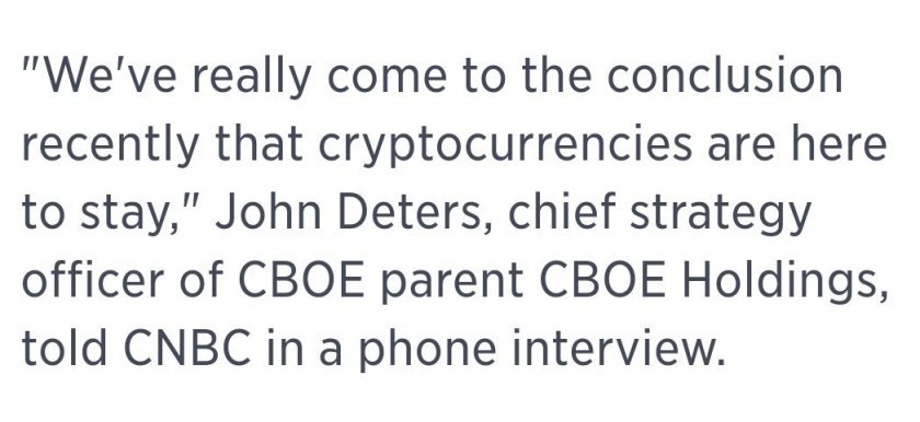 CBOE plans to launch bitcoin futures  - Bitcoin is dead! Wait, what?... $BTC.X $BTCUSD