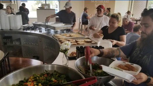 Culinary students dish out free meals to people without power after Irma