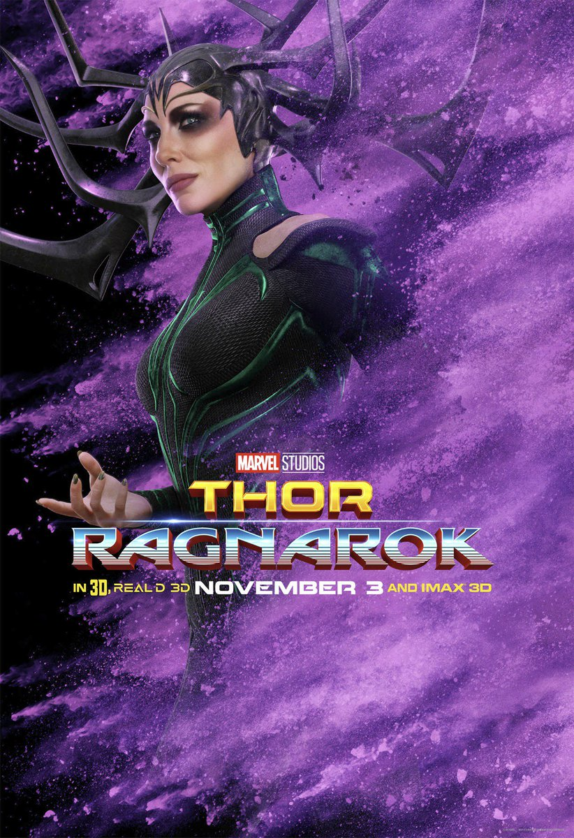 Thor: Ragnarok Character Posters
