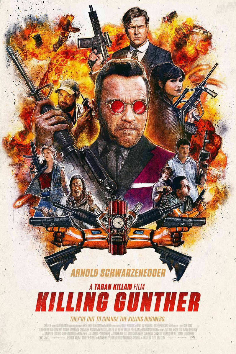 Killing Gunther Trailer Featuring Arnold Schwarzenegger 8