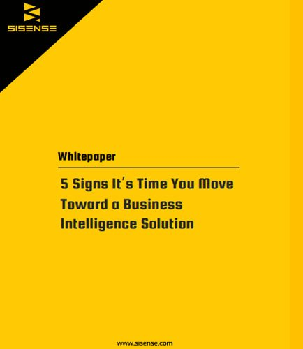 5 Signs It's Time You Move Toward a Business Intelligence Solution | #BI  #BigData #RT