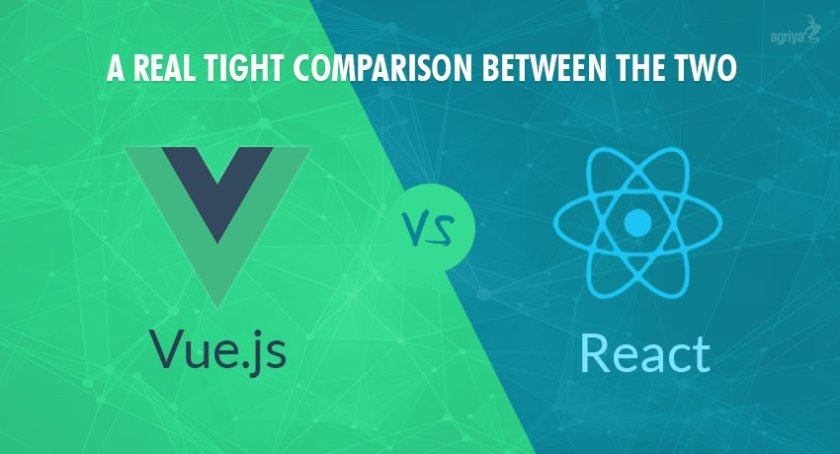 Vue.js vs React.js: A Real Tight Comparison between the two  ☞