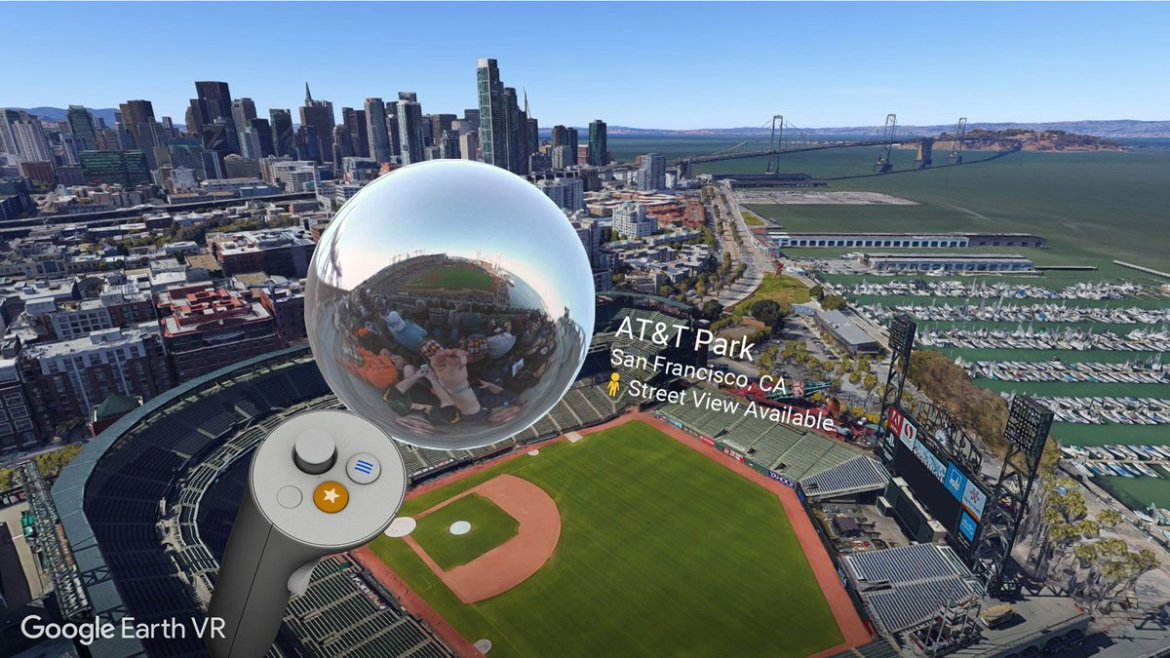 Google's Massive Street View Library Now Available in 'Google Earth VR'  #VR