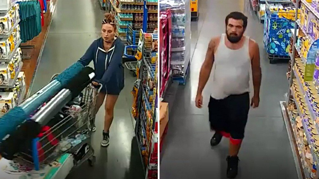 Pair accused of stealing nearly $2K from Pinellas Co. Walmart