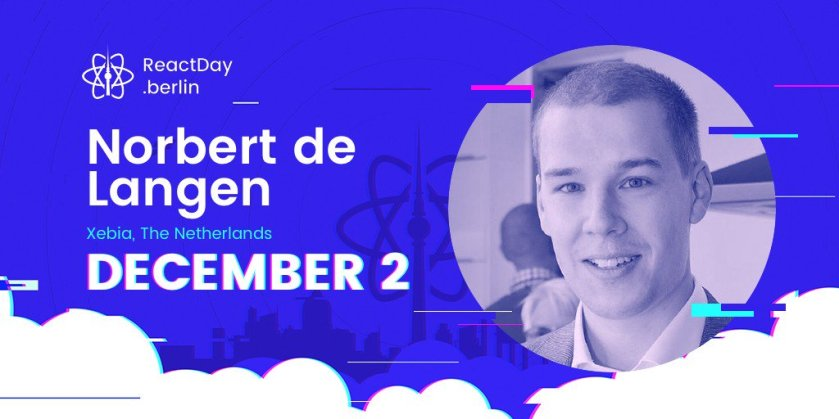 Read our interview with @NorbertdeLangen about his recent work on Storybook:  #ReactJS