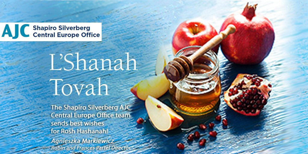 Ajc Central Europe On Twitter Shanah Tovah Umetukah To All Our Friends And Followers