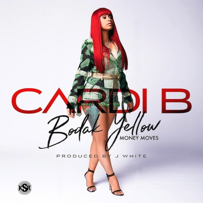 Cardi B - Bodak Yellow Lyrics 3