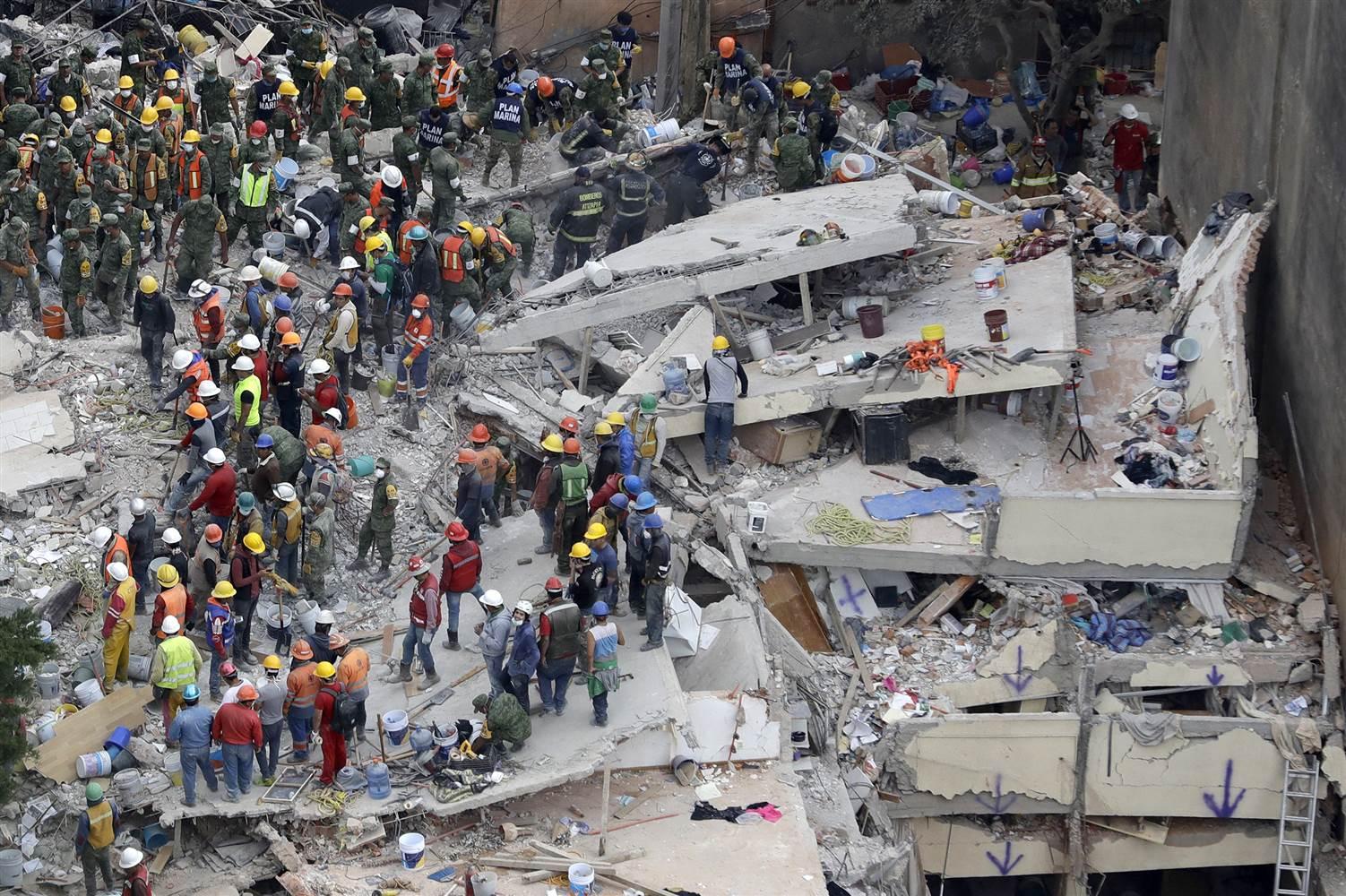 Kết quả hình ảnh cho mexico earthquake school 2017