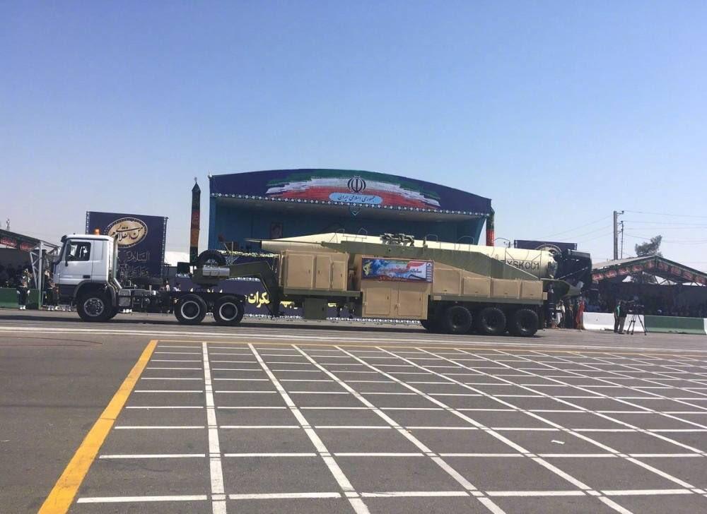test ツイッターメディア - イランが軍事パレードで公開した新型弾道ミサイル ホラムシャハル https://t.co/1IIP35VXX0