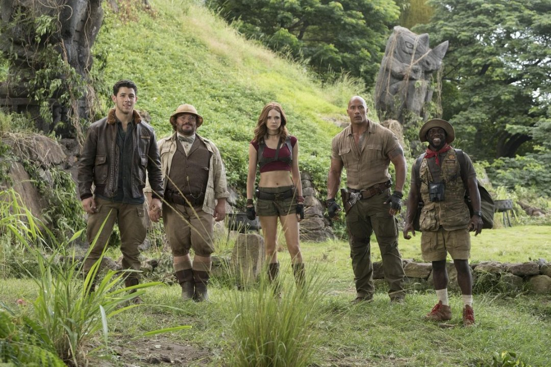 new Jumanji: Welcome to the Jungle trailer