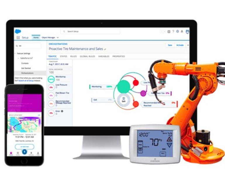 Salesforce IoT Explorer lowers barrier to IoT with low-code interface, proactive data  #iot