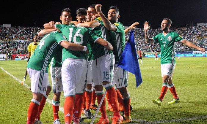 Repetición goles México vs Honduras