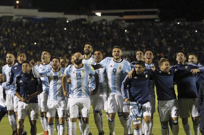 Argentina clasificada al mundial