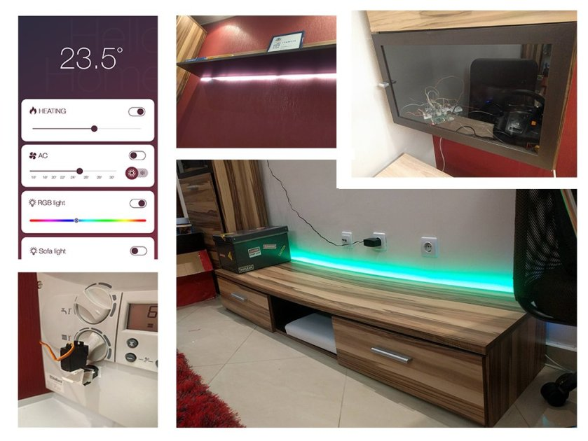 Home automation with #Raspberry Pi, Node and #reactjs  #Webdesign