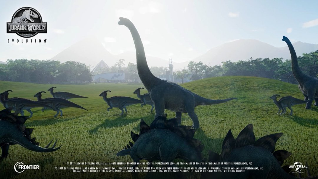 Jurassic World Evolution In-Game Footage