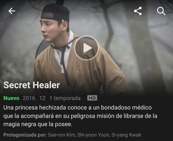 Recomendación: Secret Healer, magia y hechicería en Netflix