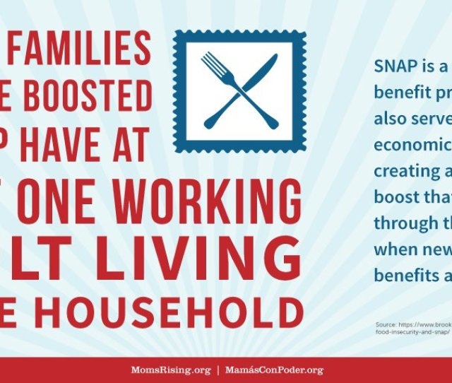 Momsrising On Twitter Snap Keeps Families From Falling Into Poverty During Unexpected Times Handsoff Snap