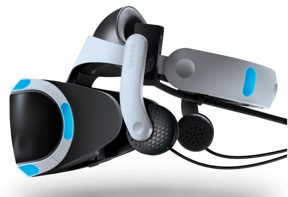 Mantis #VR adds integrated headphones to any PlayStation VR