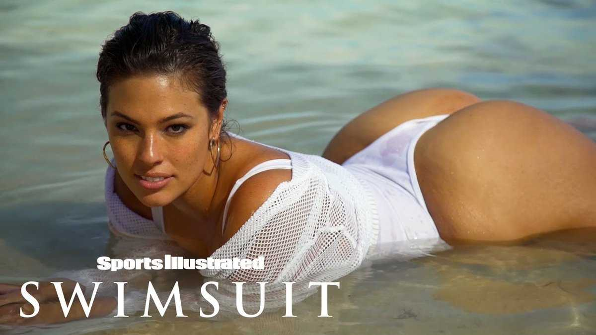 Ashley Graham Hottest Moments Curvy Cover Model Bare In