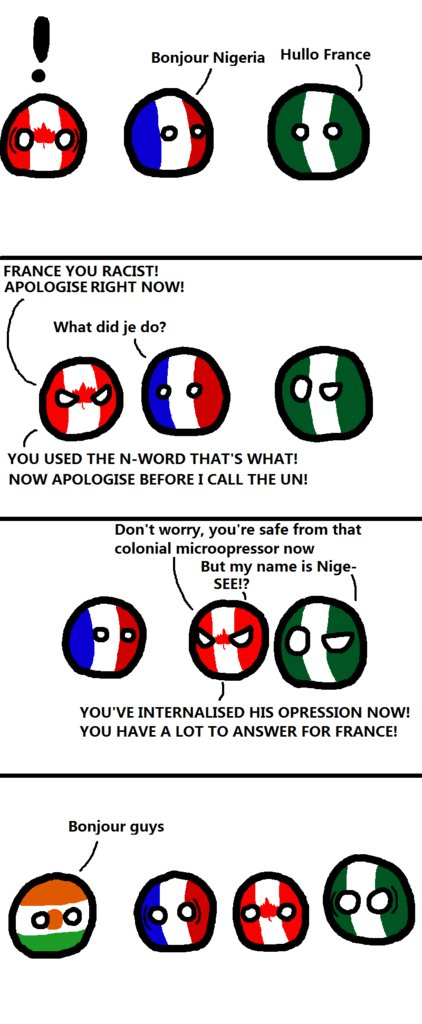 France Cannot Into Special Relationship Polandball