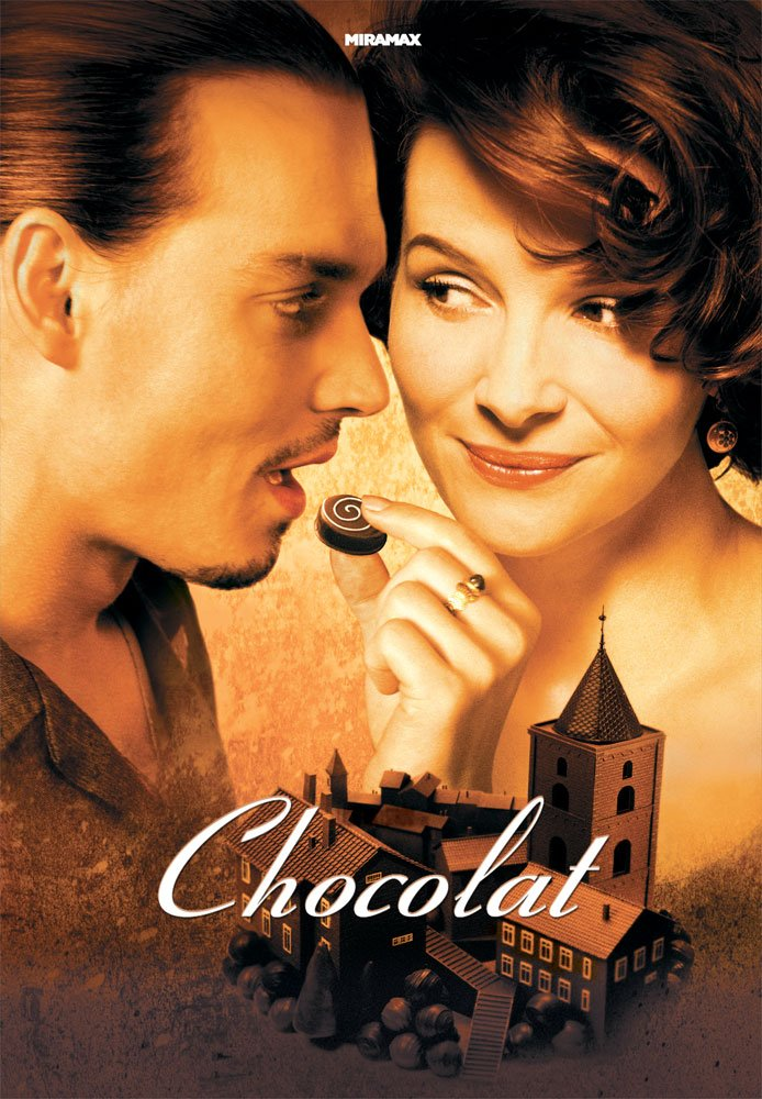 test ツイッターメディア - 【おいしい幸せ、召し上がれ】  深夜2時5分からのミッドナイトアートシアターは、映画『ショコラ』を放送します。  ジュリエット・ビノシュ×ジョニー・デップ主演! フランスの小さな村を舞台に、すべての人を幸せにしてしまう不思議なチョコレートの物語。どうぞお楽しみに!  #ショコラ https://t.co/a81gpHcLAc
