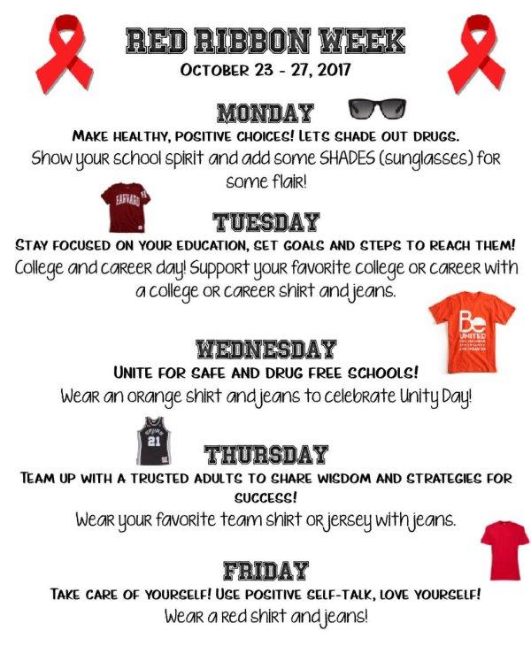 red ribbon week # 11