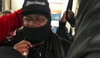 Marshawn Lynch Got Ejected, Watched The Rest Of The Game From The Stands, Then Took The Train Home With Raider Fans